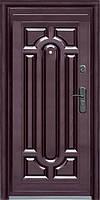 Стандартная входная металлическая дверь Сезон Плюс Тёплый стандарт 140+ автолак 860