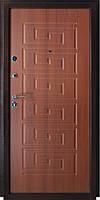 Входная металлическая дверь металл/МДФ  Белорусский стандарт 2014  БС2 - Итальянский орех 860