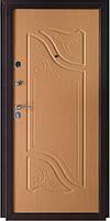 Входная металлическая дверь МДФ Белорусский стандарт 2014 БС3 - Миланский орех 860