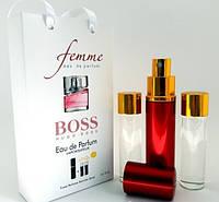Женский мини парфюм с феромонами Hugo Boss Boss Femme (Хьюго босс Босс Фемм), 3*15 мл