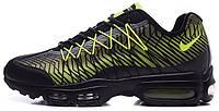Мужские кроссовки Nike Air Max 95 Ultra Jacquard Green, найк аир макс 95