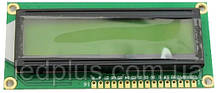 Индикатор ЖКИ 1602A-YG с подсветкой LCD 1602