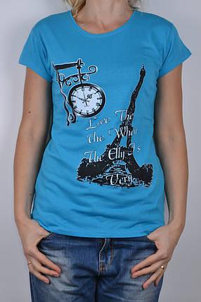 Женская футболка (W864/149)   4 шт., фото 2