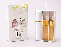 Женский мини парфюм Christian Dior Miss Dior Cherie с феромонами(Кристиан Диор Мисс Диор Чери), 3*15 мл