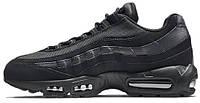Мужские кроссовки Nike Air Max 95 Triple Black, найк аир макс 95