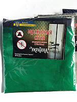 Москитная сетка на двери на магнитах 210х110 см (синяя,  зеленая, белая)