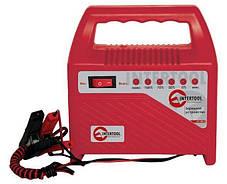 Автомобильное зарядное устройство для АКБ 6/12В 60Ач INTERTOOL AT-3012