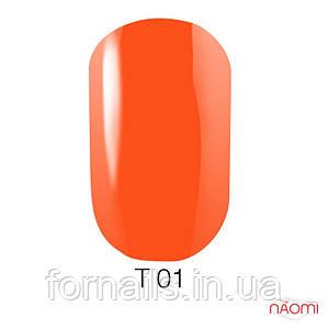 Лак для ногтей Naomi 12 мл №T001(полупрозрачный коралловый)