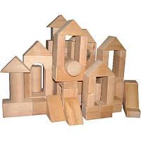 Конструктор «Городок деревянный №1» 35 элементов ВП-003\1 Винни Пух