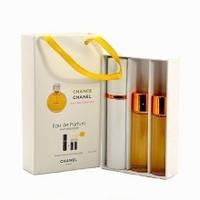 Женский мини парфюм  Chanel Chance (Шанель Шанс), 3*15 мл