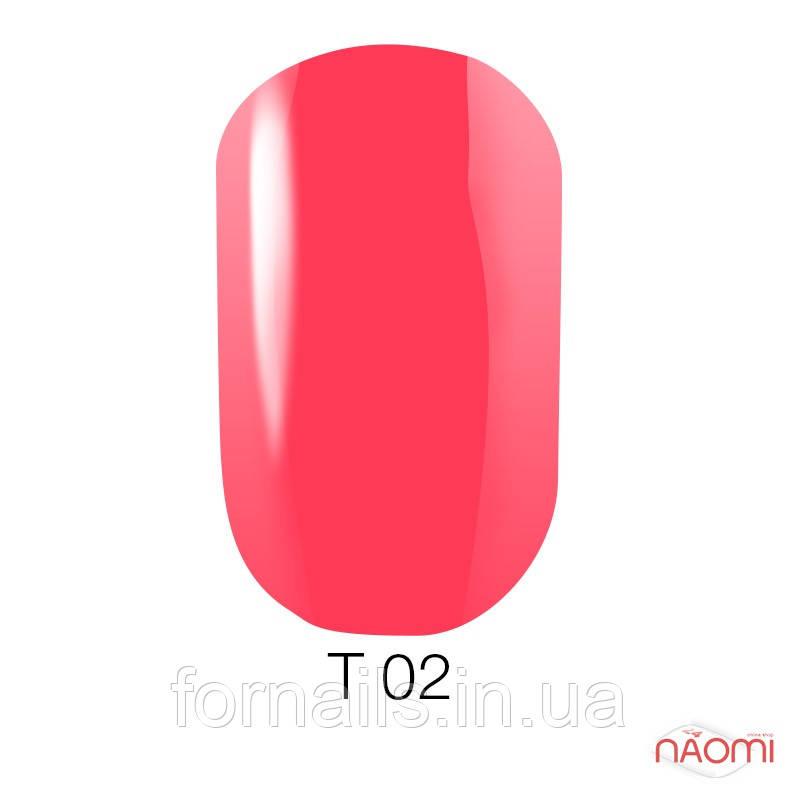 Лак для ногтей Naomi 12 мл №T002(полупрозрачный розовый)