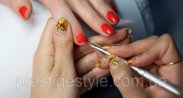 Догляд за штучними нігтями