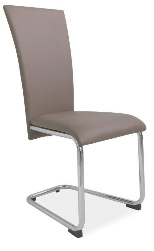 Металлическое кресло хром H-224