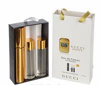 Женский мини парфюм Gucci Guilty (Гуччи Гилти),3*15 мл