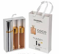 Женский мини-парфюм Chanel Coco Mademoiselle (Шанель Коко Мадмуазель), 3*15 мл