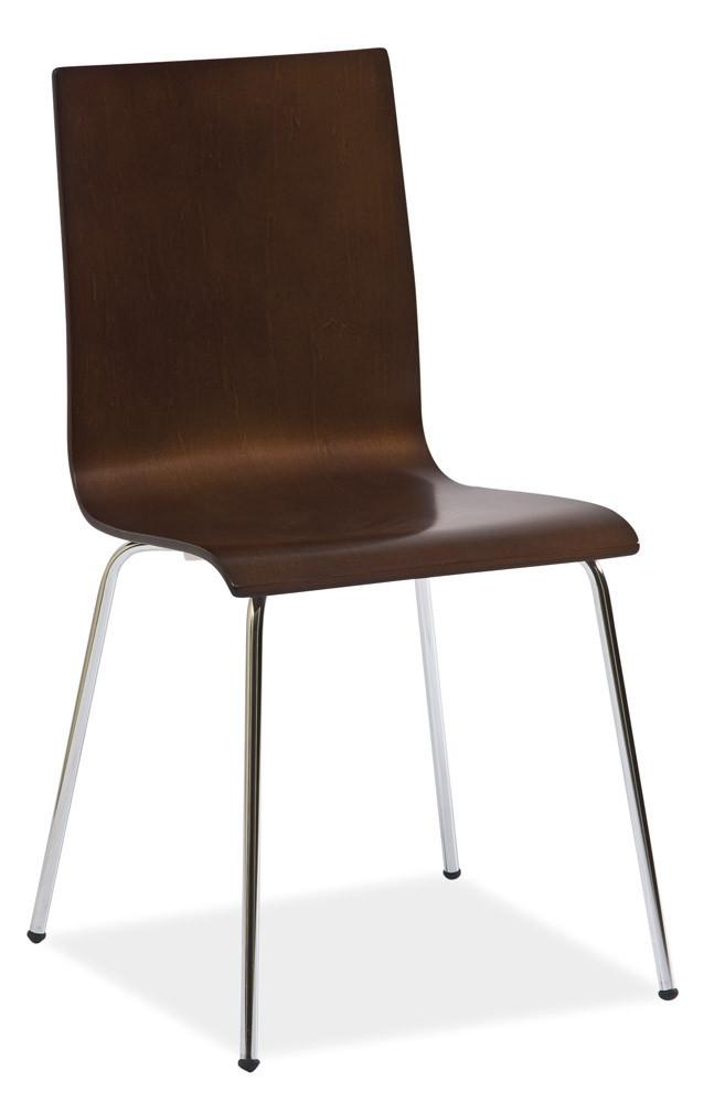 Металлическое кресло хром W-14