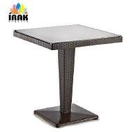 Стол из ротанга Rattan Table 70х70