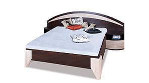 Кровать DL1-1 (без тумбочек) sosna laredo (Fadome)