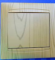 Выключатель LEMANSO Сакура   1-й  ольха   LMR1401