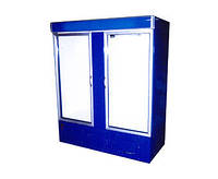Холодильный шкаф с лайтбоксом Айстермо ШХС-1.4 (0...+8°С, 1600х700х2000 мм, стеклянные двери)