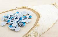 Глазки для игрушек овальные голубые 14мм (10шт.)(товар при заказе от 500грн)