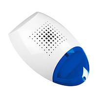 Сирена свето-звуковая SP-500 BL наружная