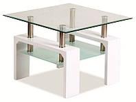 Стеклянный журнальный столик Lisa D Basic