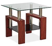 Стеклянный журнальный столик Lisa D