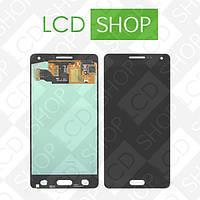 Модуль (дисплей + тачскрин) для телефона Samsung Galaxy A5 A500, чёрный