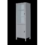 Шкаф медицинский одностворчатый с сейфом ШМ-1С