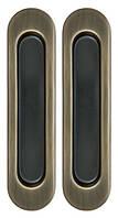 Ручка для раздвижных дверей SIBA S222 АВ-бронза
