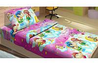 Постельное белье для подростков Top Dreams Kidsdreams Амуры розовое 150