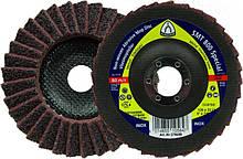 Лепестковый тарельчатый круг Klingspor SMT 800 125X22,23 medium из нетканого материала