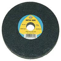 Высокопродуктивный круг Klingspor MFW 600 150X6X22 very fine из нетканого материала