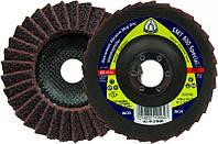 Лепестковый тарельчатый круг Klingspor SMT 800 125X22,23 very fine из нетканого материала