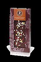 Шоколад черный с цукатами и малиной