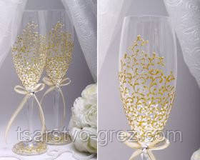 Свадебные бокалы Deluxe