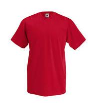 Футболка бавовняна - 61-066-40 червона