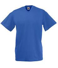 Футболка бавовняна - 61-066-51 яскраво-синя
