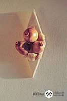 Картина из натурального дерева, ручной работы