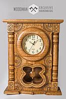 Часы настенные ручной работы из натурального дерева