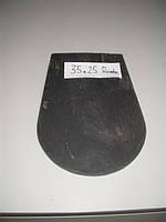 Сланец кровельный Rombo (лепесток) Cubiertas Segovia 35*25, 4-6 мм черный