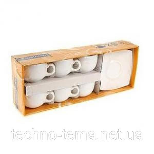 Quadrato White.Набор чайный 220мл-12пр Luminarc E8865