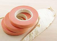 Флористическая лента розовая