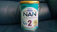 Детская смесь Nestle Nan Нан 2 400г