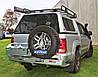 Выносной крепеж запасного колеса KAYMAR к заднему бамперу на правую сторону VW Amarok 10+