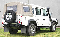 Выносной крепеж запасного колеса KAYMAR к родному заднему бамперу на правую сторону Land Rover Defender