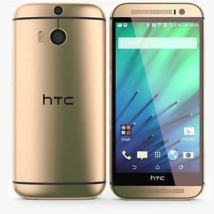 Смартфон HTC One M8 32GB Gold
