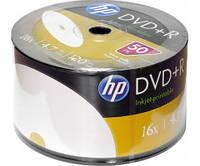 DVD+R диски для видео, принтовые Hewlett-Packard Рrintable Bulk/50