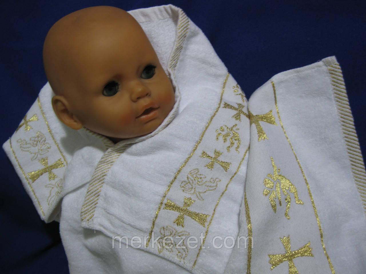 """Крыжма """"Свит бейби"""". Крещение ребенка. Полотенце для новорожденного"""